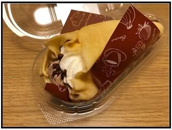 チョコバナナの中身写真