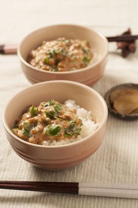 きび酢納豆の画像