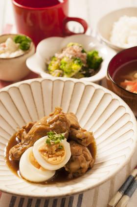 鶏手羽のきび酢煮の画像
