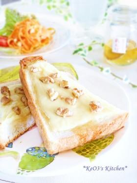 ハニーチーズトースト画像