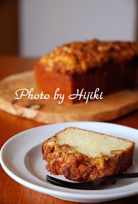 クルミとシナモンのケーキ画像