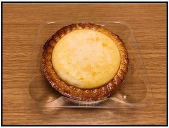 サクサク焼きチーズタルトの写真