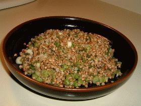 蕎麦の実サラダ