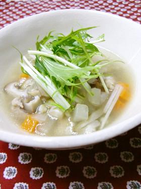 そばの実スープ