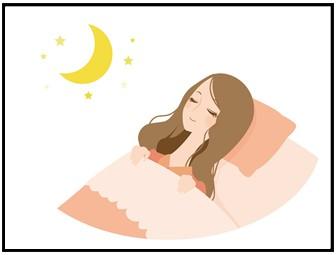 睡眠の画像
