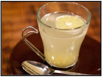酢生姜はちみつレモネード画像