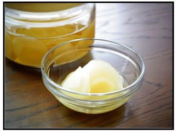 スライス酢生姜の画像